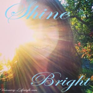 shine bright polaroid