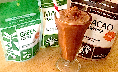 Healthy Ice Blended Mocha Java (Recipe)