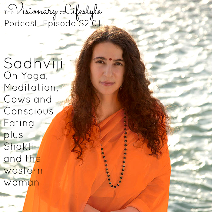 VLP S2 01 Sadhviji on Yoga, Meditation, Cows and Conscious Eating
