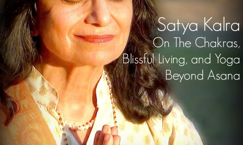 VLP S2 12/13 Satya Kalra: The Chakras and Blissful Living On The Chakras, Blissful Living and Yoga Beyond Asana