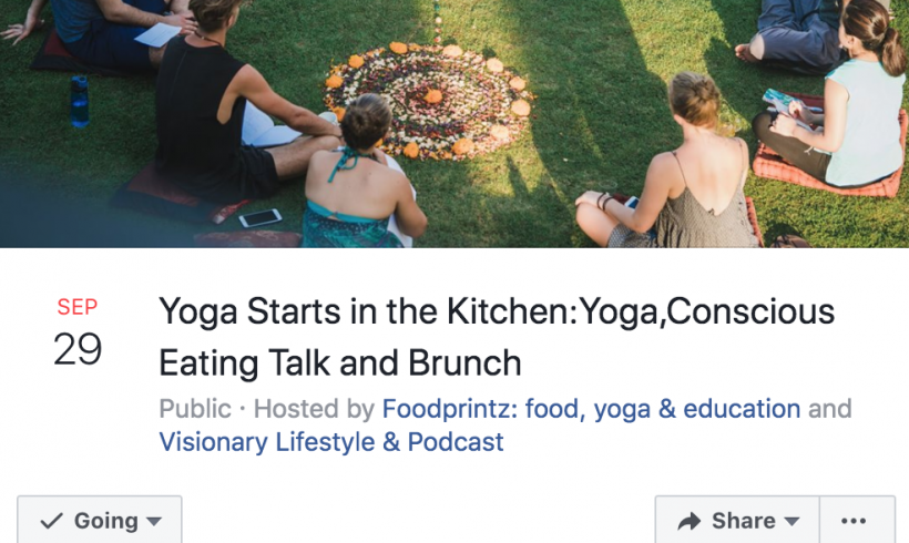 Yoga Starts in the Kitchen-Yoga, Talk and Brunch Lisbon