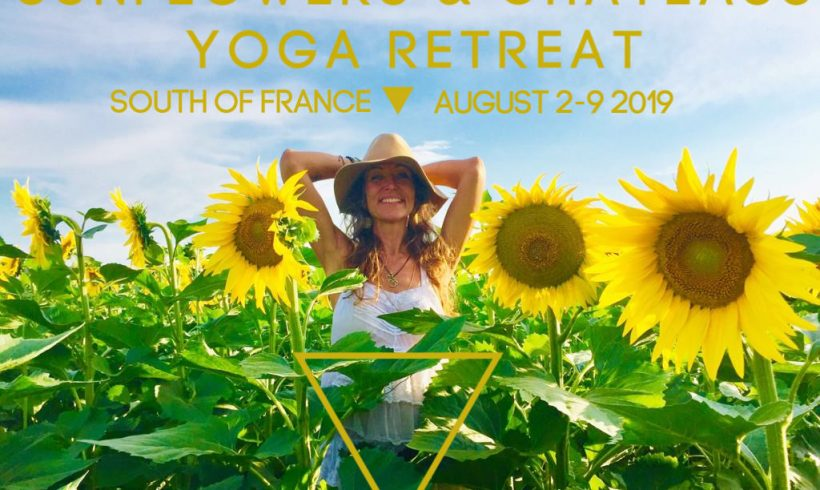 Sunflowers & Chateaus Yoga Retreat