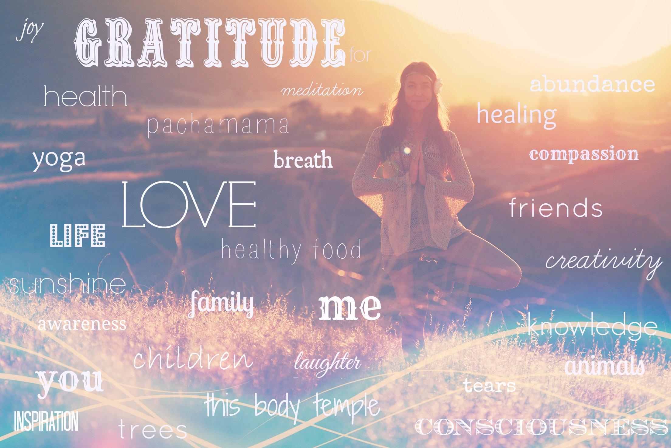 Gratitude, Every Day!