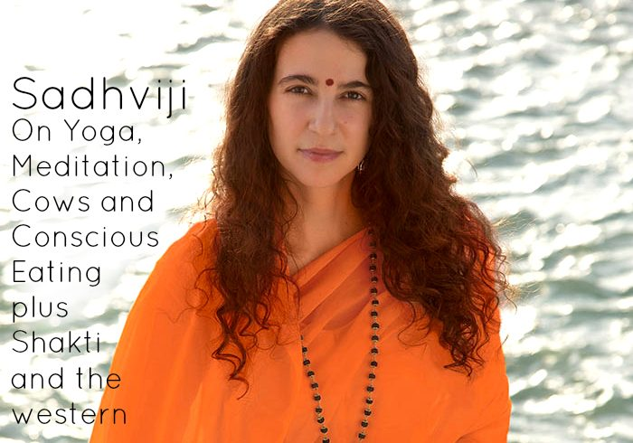 VLP S2 01 Sadhviji on Yoga, Meditation, Cows and Conscious Eating